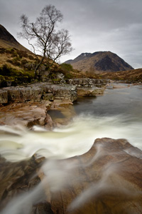 River Etive. Fine Art Landscape Photography by Gary Waidson
