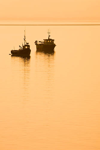 Crab Boats. Fine Art Landscape Photography by Gary Waidson