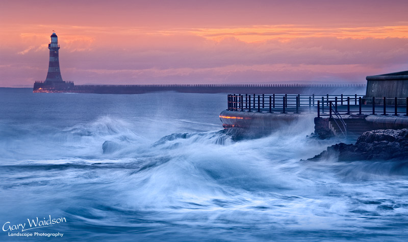 Seaburn. This picture was Commended in the Landscape Photographer of the Year 2010, Take a View Awards