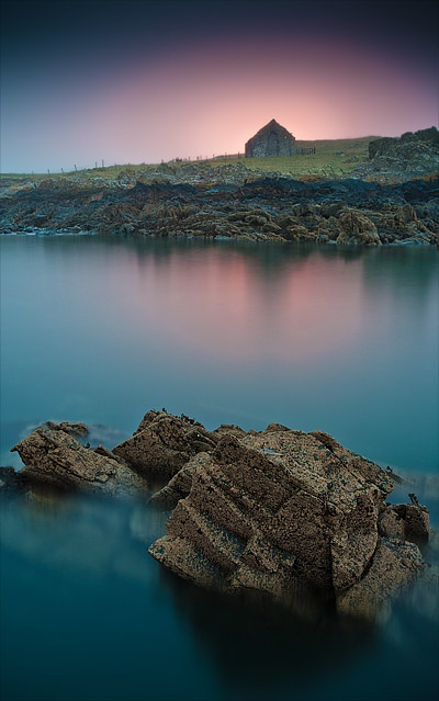 St Ninian's Chapel. Isle of Whithorn. Fine Art Landscape Photography by Gary Waidson